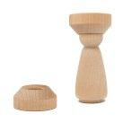 #21 wood lady peg with #3075B-A doll pin stand.